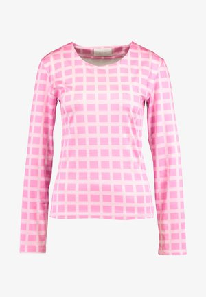 NORA LOGO - Maglietta a manica lunga - pink