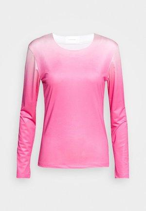 RILEY LONG SLEEVE - Langarmshirt - pink dip dye