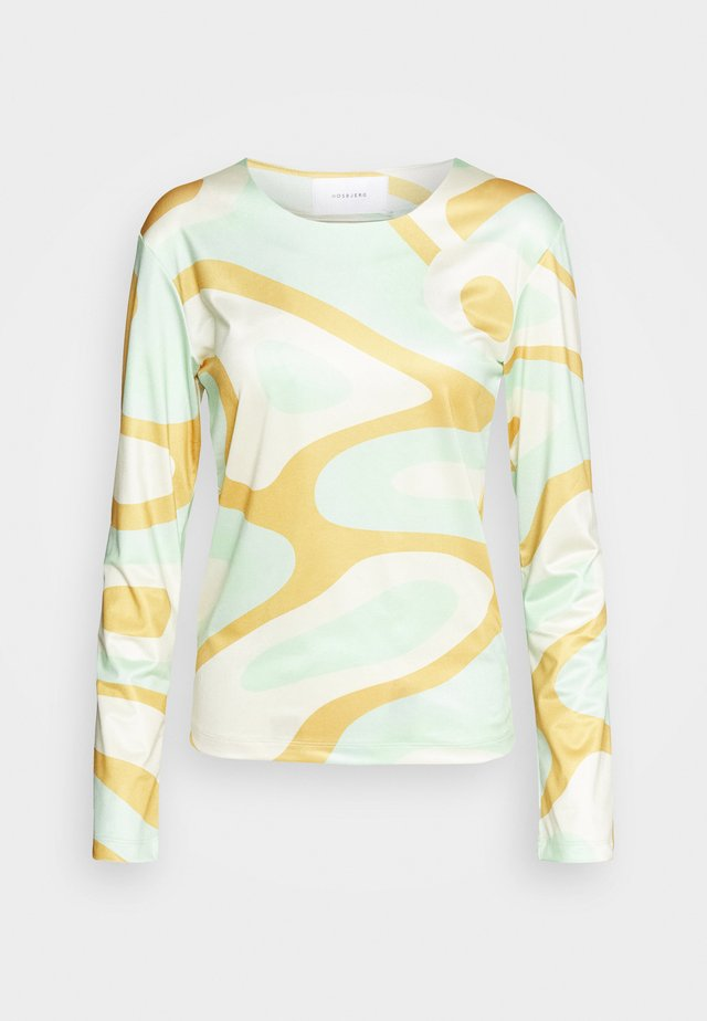 RILEY LONG SLEEVE - Langærmede T-shirts - green