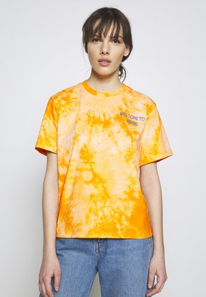 ROSEMARY MIAMI - T-shirt z nadrukiem - orange
