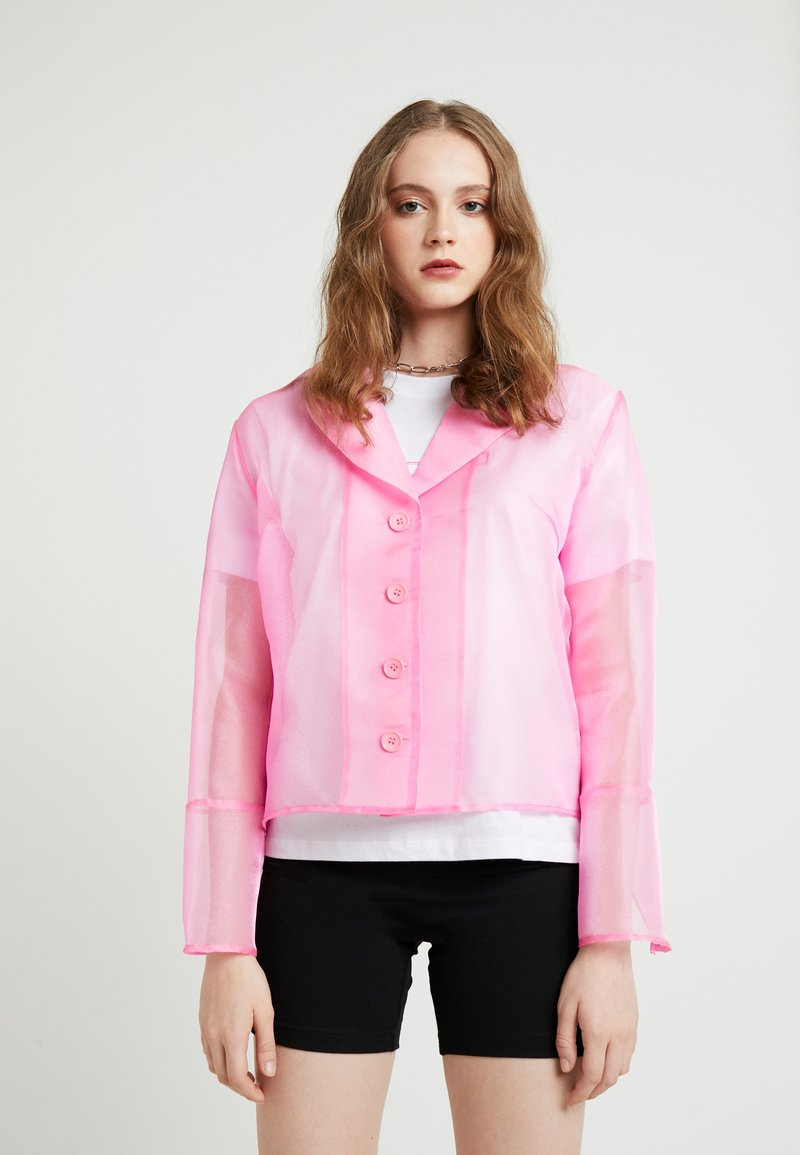 HOSBJERG - JASMINE - Button-down blouse - pink