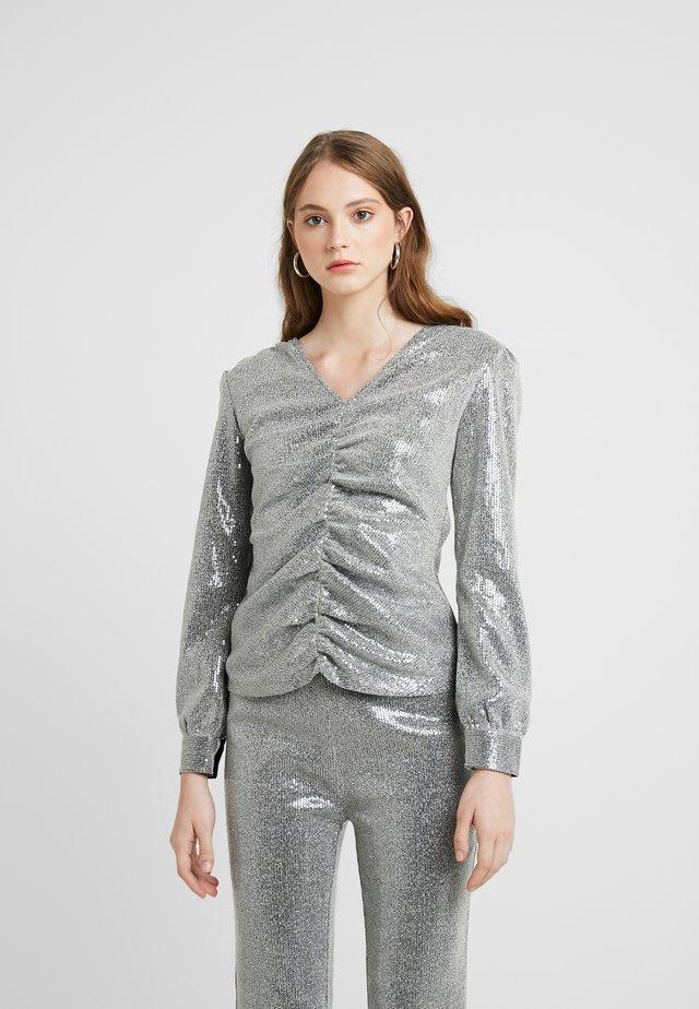 PETRA - Bluse - silver