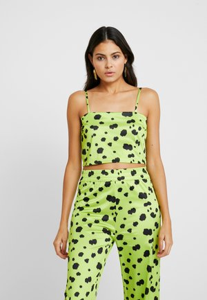 OLIVIA - Top - lime green