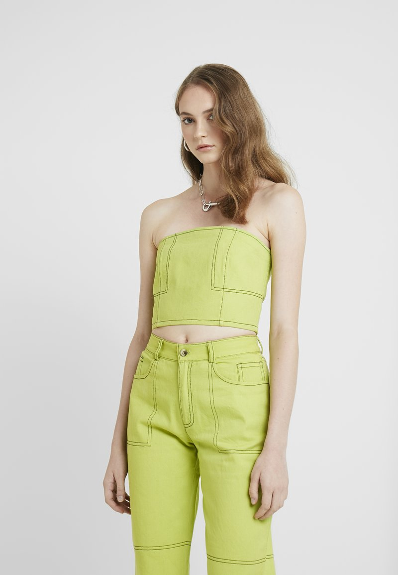 HOSBJERG - OLYMPIA - Top - lime green