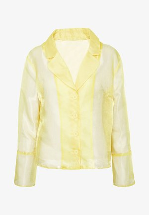 JASMINE - Button-down blouse - yellow