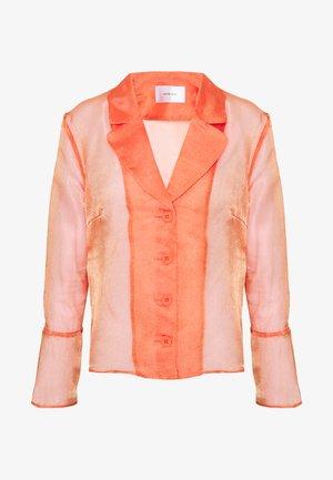 JASMINE - Button-down blouse - orange