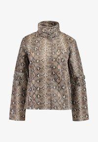 HOSBJERG - OLLIE JACKET - Leather jacket - brown - 5