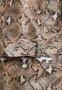 HOSBJERG - OLLIE JACKET - Leather jacket - brown - 4