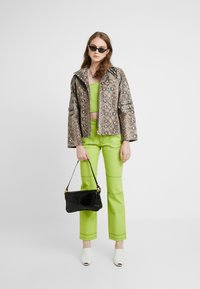 HOSBJERG - OLYMPIA JEANS - Straight leg jeans - lime green - 1