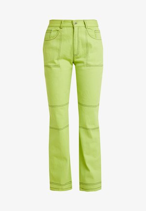 OLYMPIA JEANS - Jeans straight leg - lime green