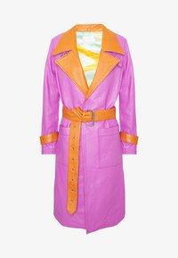 HOSBJERG - RUDY FRANCE COAT - Classic coat - purple/orange - 6