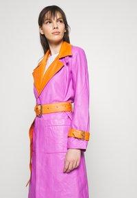 HOSBJERG - RUDY FRANCE COAT - Classic coat - purple/orange - 3