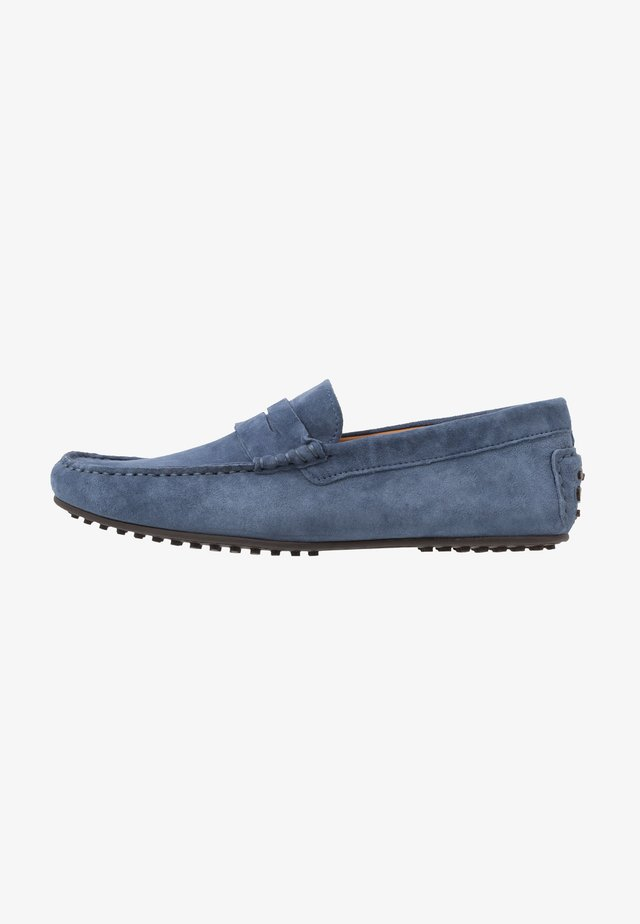 Moccasins - denim