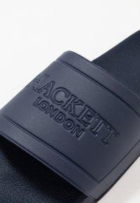 Hackett London - Klapki - navy - 5