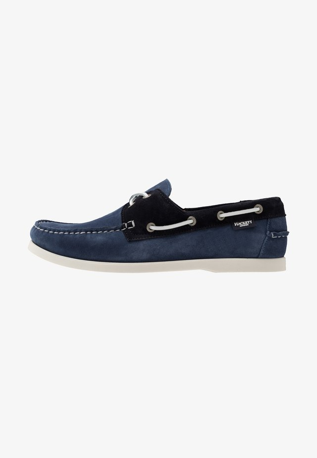 Boat shoes - denim/navy