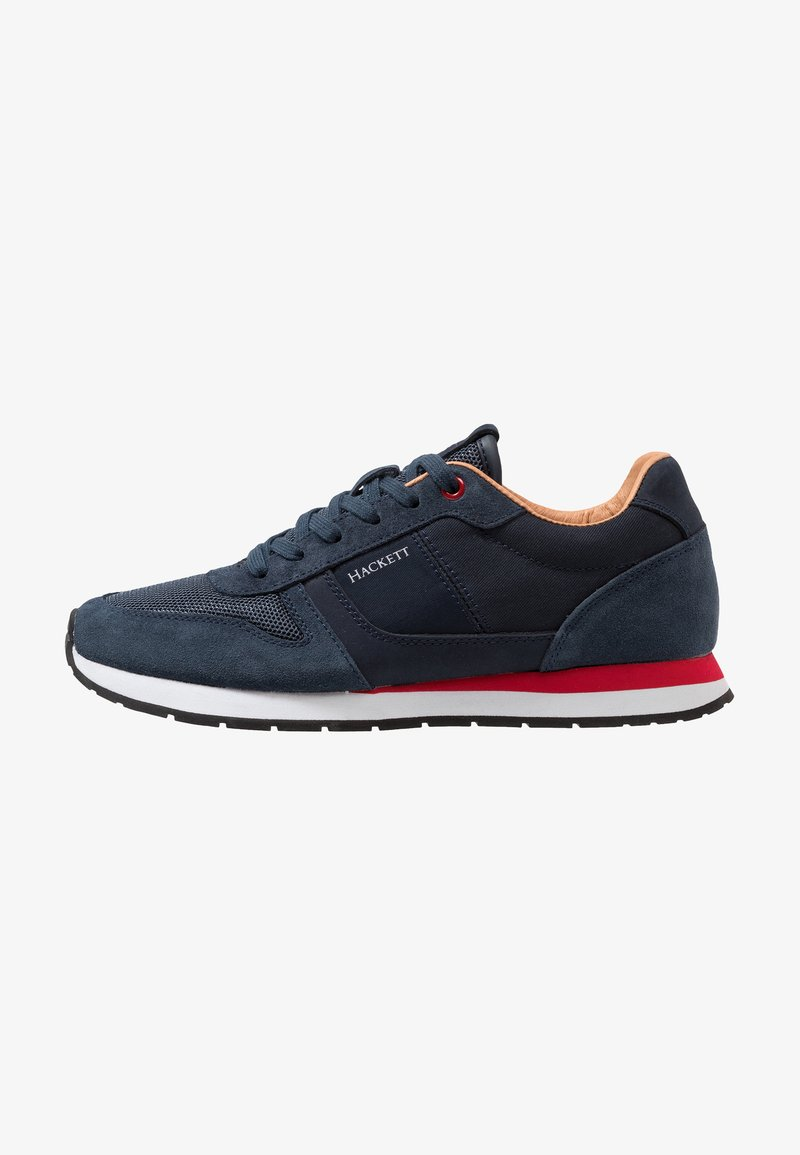 Hackett London - CONTRAST EYELET - Sneakers - navy