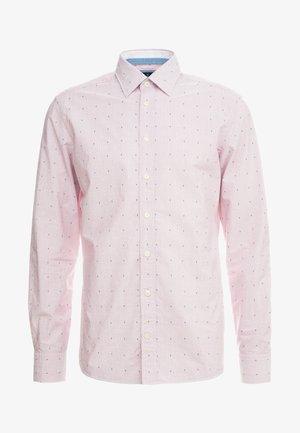 SLIM FIT - Kostymskjorta - red/white