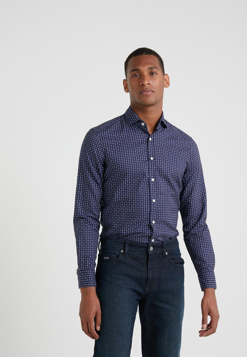 Hackett London - DAISEY PRINT SLIM FIT - Skjorter - blue