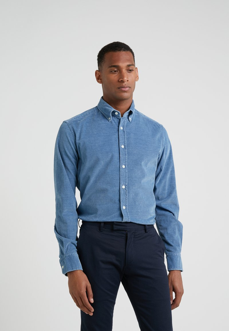 Hackett London - INDIGO BABY SHIRT SLM FIT - Shirt - sky