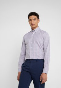 Hackett London - GINGHAM SLIM FIT - Shirt - tulip - 0