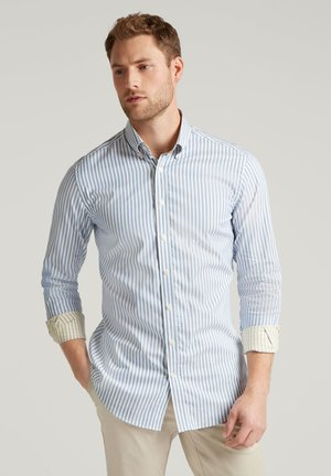 DOUBLE SIDED SLIM FIT - Shirt - sky/yellow