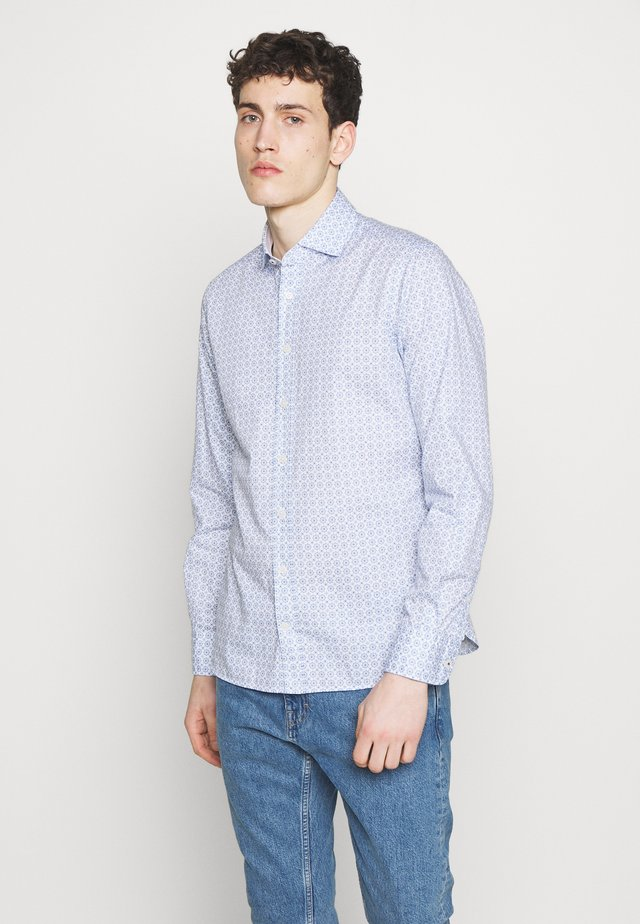 MOSAIC TILE - Hemd - white/blue