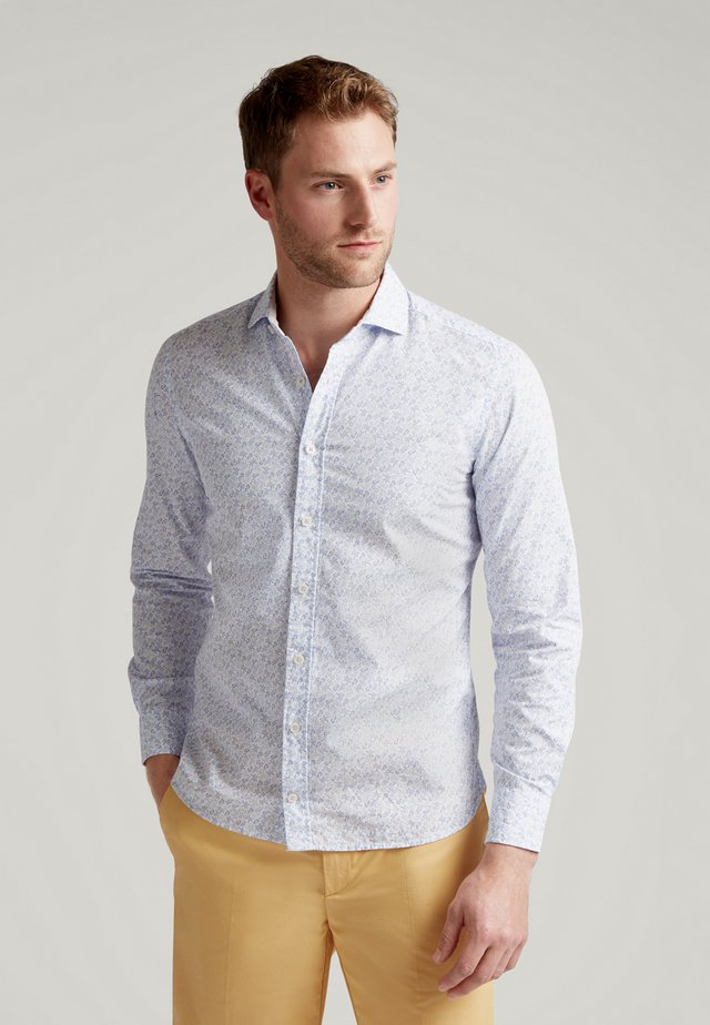 SEASIDE  - Shirt - white/sky