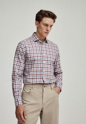 LILAC MLTI FLAN PLAID - Shirt - white
