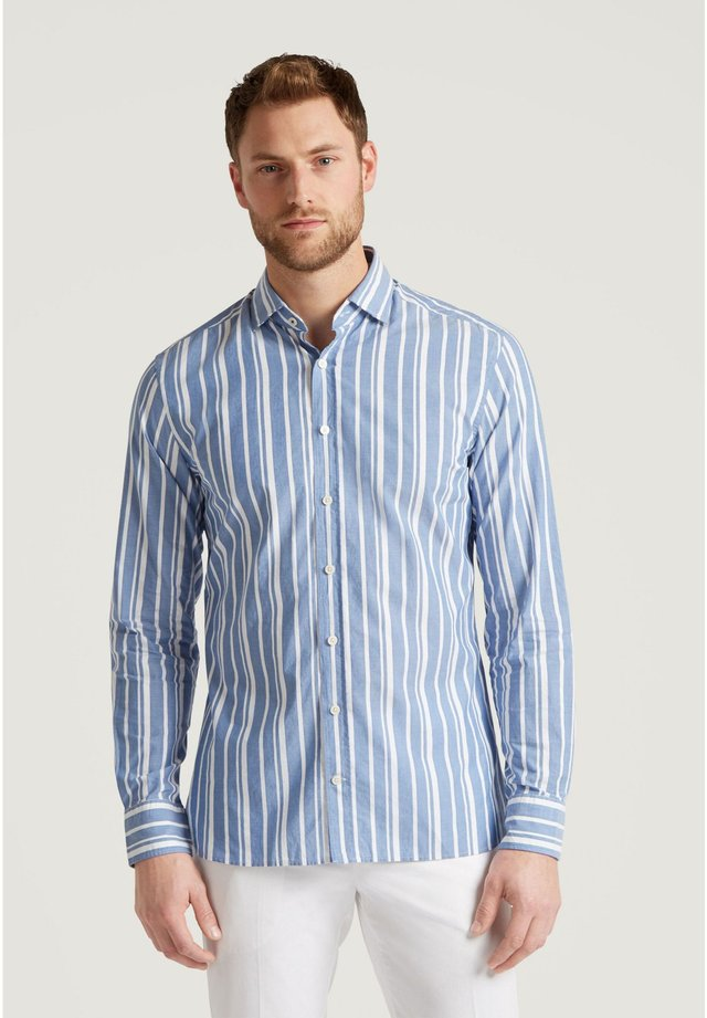 Shirt - blue/white