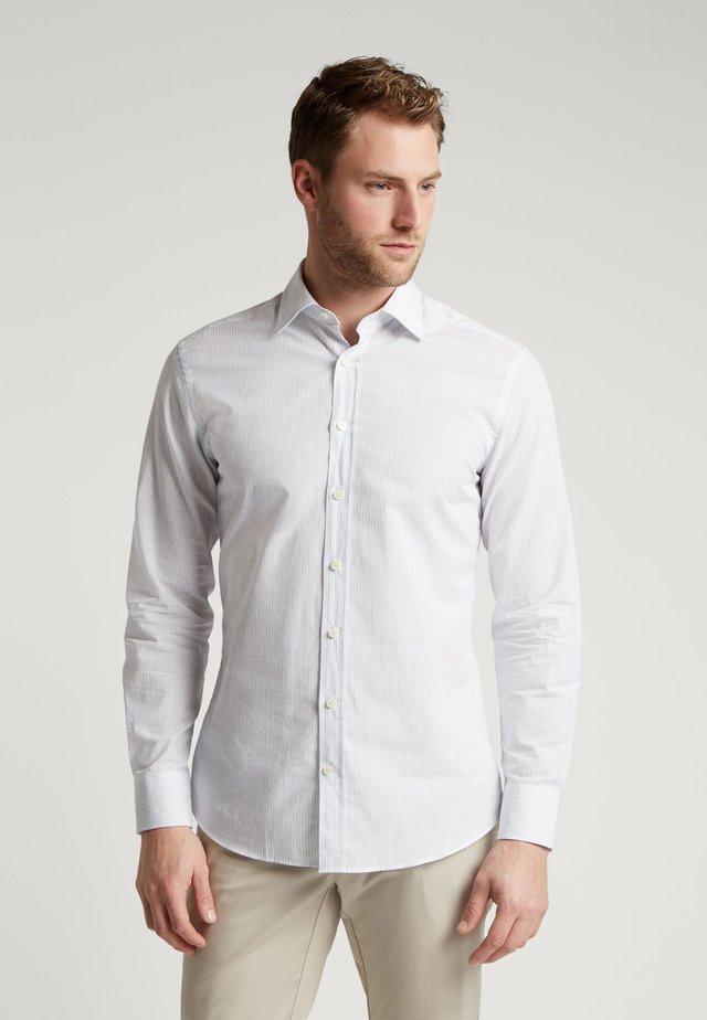 Shirt - white/blue