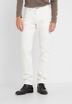 DYED JEANS - Jean droit - off white