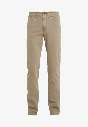 DYED JEANS - Jeans Straight Leg - taupe