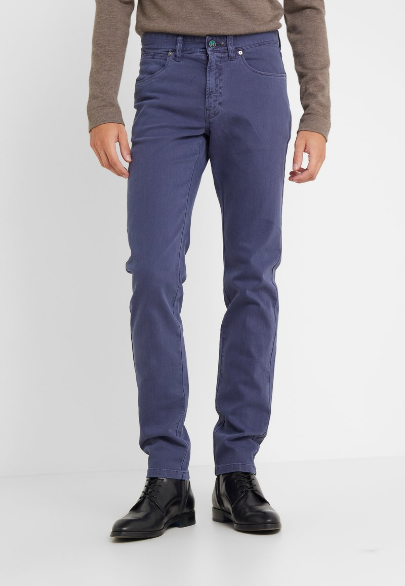 Hackett London - DYED JEANS - Jeans a sigaretta - dark blue