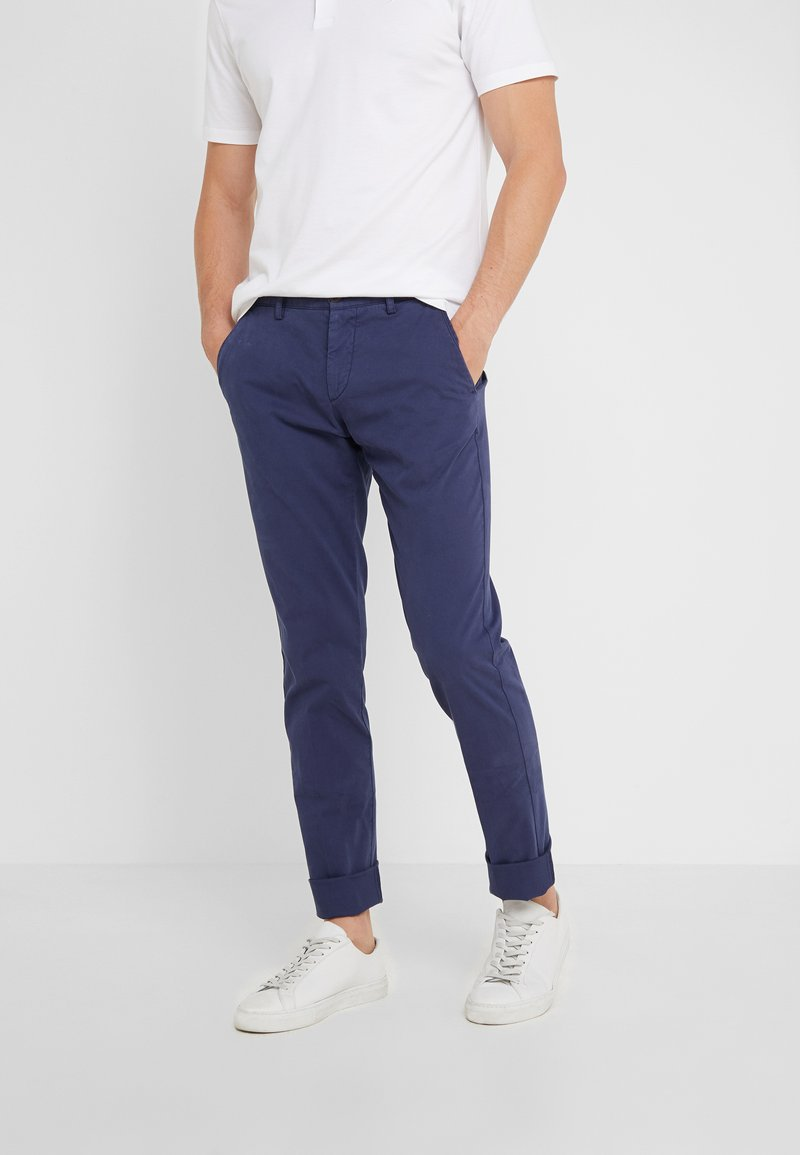 Hackett London - DYE TEXTURE - Kalhoty - denim