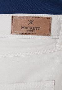 Hackett London - TEXTURE 5 POCKET - Kalhoty - mist - 5