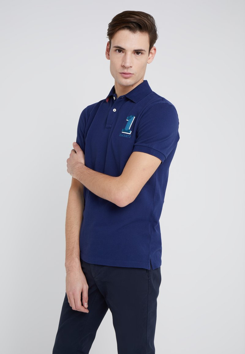 Hackett London - NEW CLASSIC - Polo - dark blue