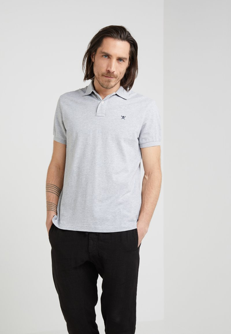 Hackett London - CLASSIC LOGO - Poloshirt - grey