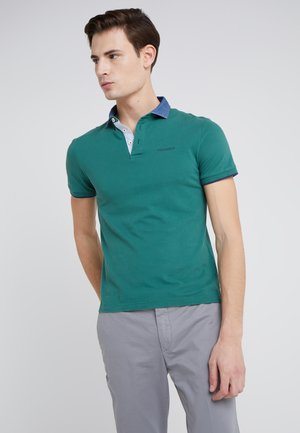 CHAMBRAY SLIM FIT - Poloshirt - fern/green