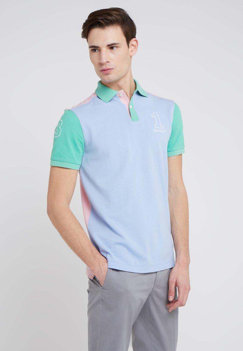 Hackett London - ARCHIVE - Polo shirt - sky/multi