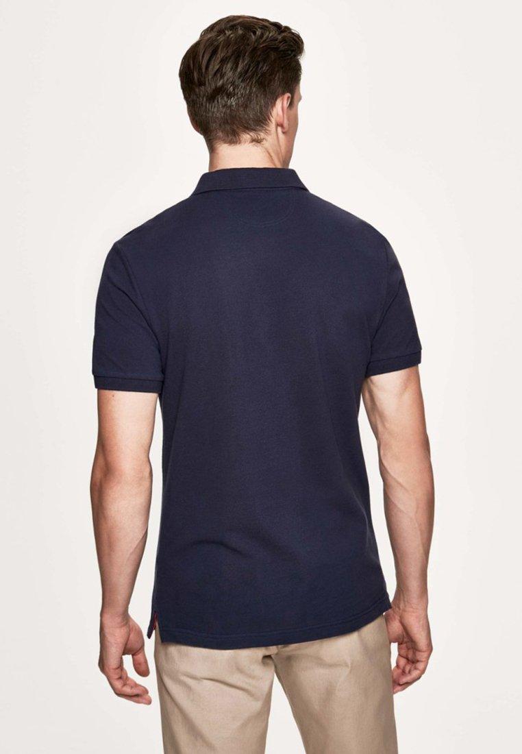 Hackett London Koszulka polo - navy