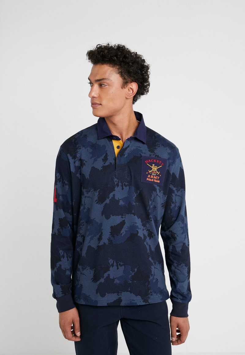 Hackett London - ARMY CAMO - Sweatshirt - blue