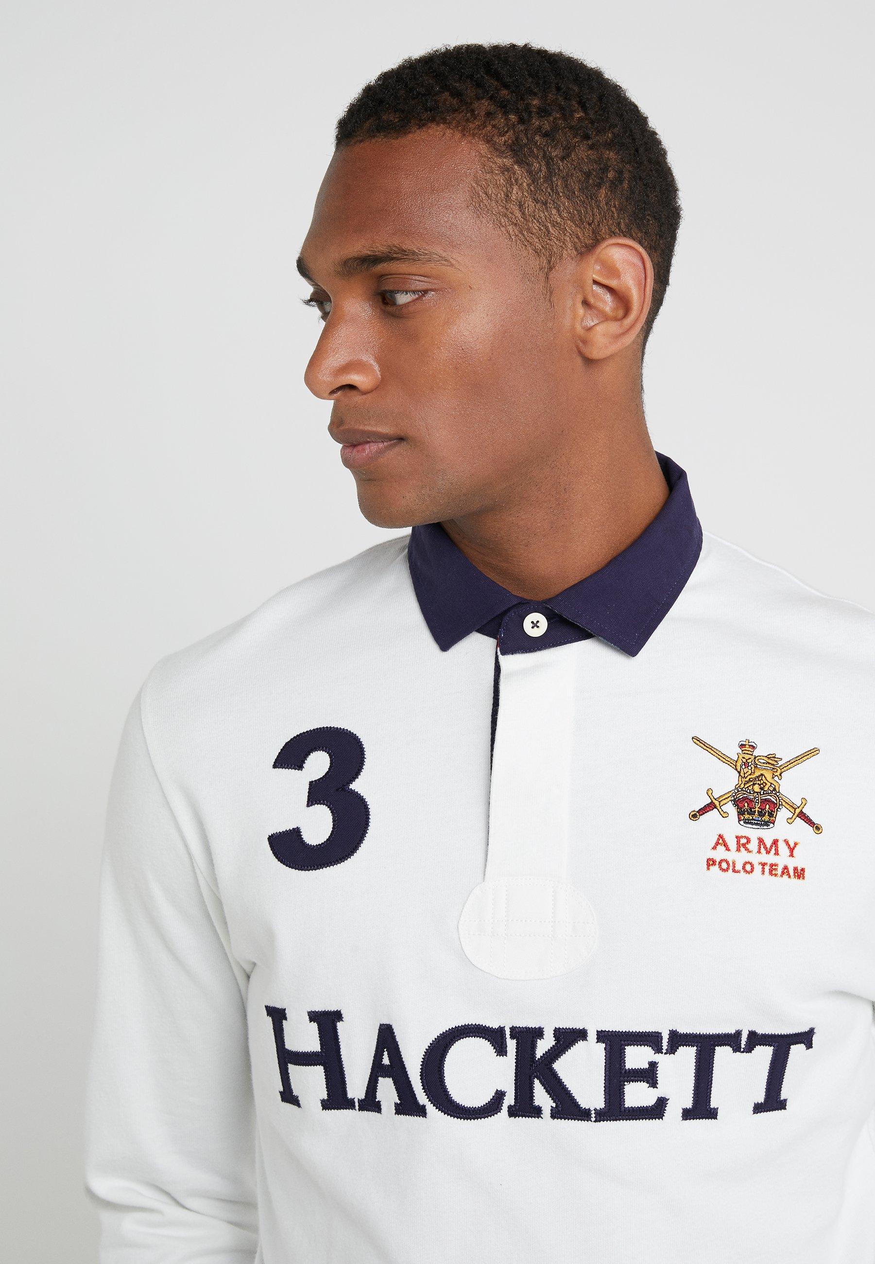 Hackett London ARMY RUGBY - Sweatshirt ecru