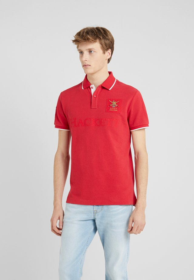 CLASSIC FIT - Polo shirt - red