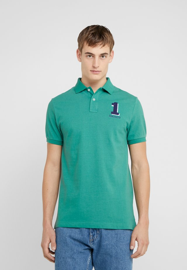 NEW CLASSIC FIT - Polotričko - fir green