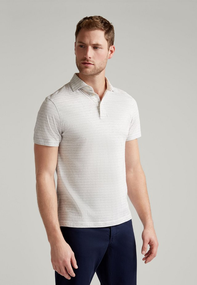 Polo shirt - pearl grey