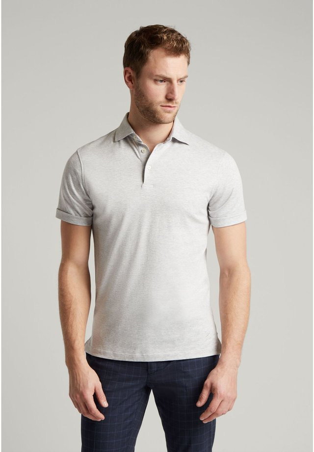 Polo shirt - pearl grey