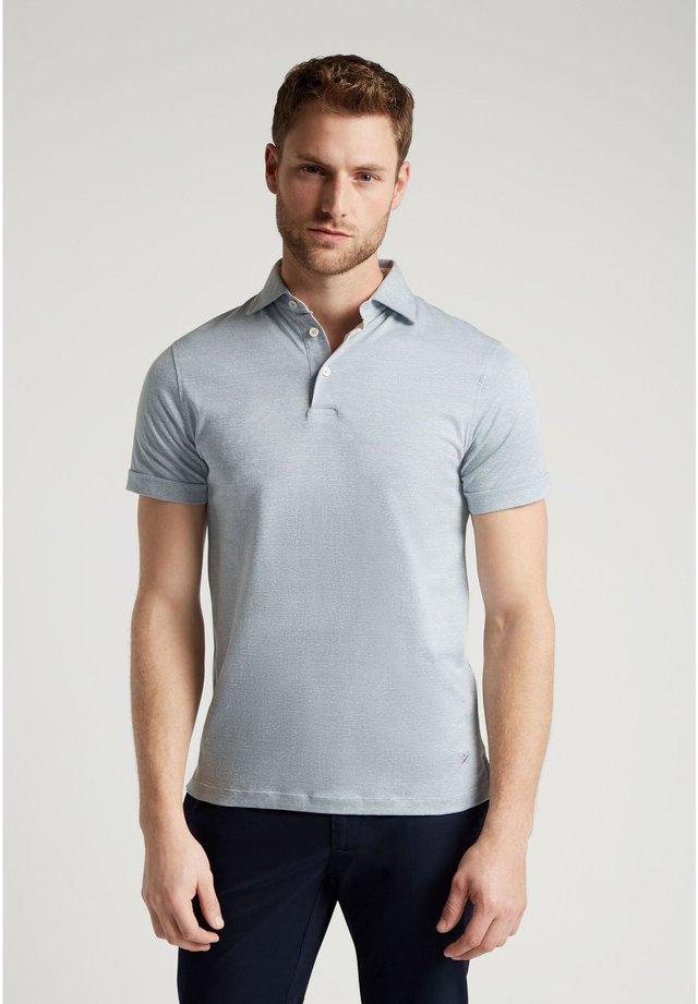 Polo shirt - aqua