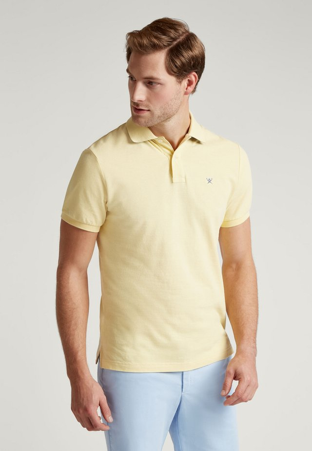 Polo shirt - pastel lemon