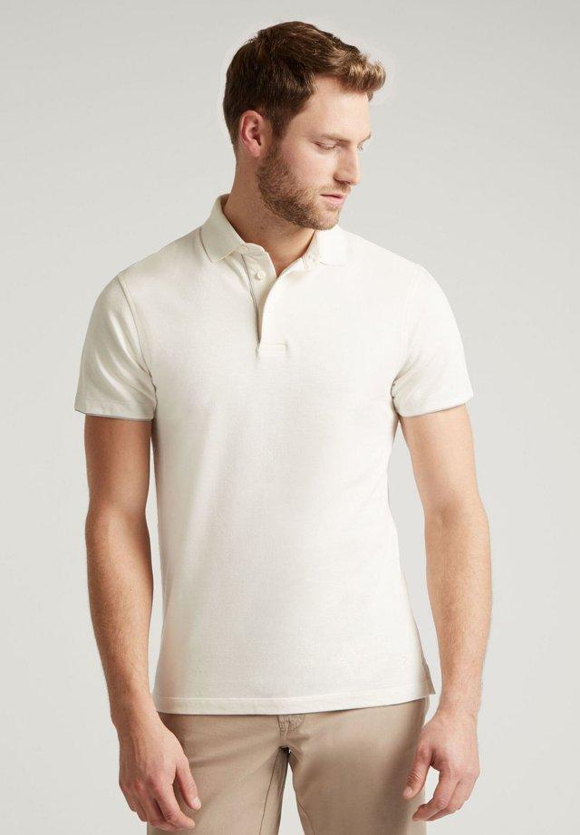 TERRY PIPED - Polo shirt - ecru