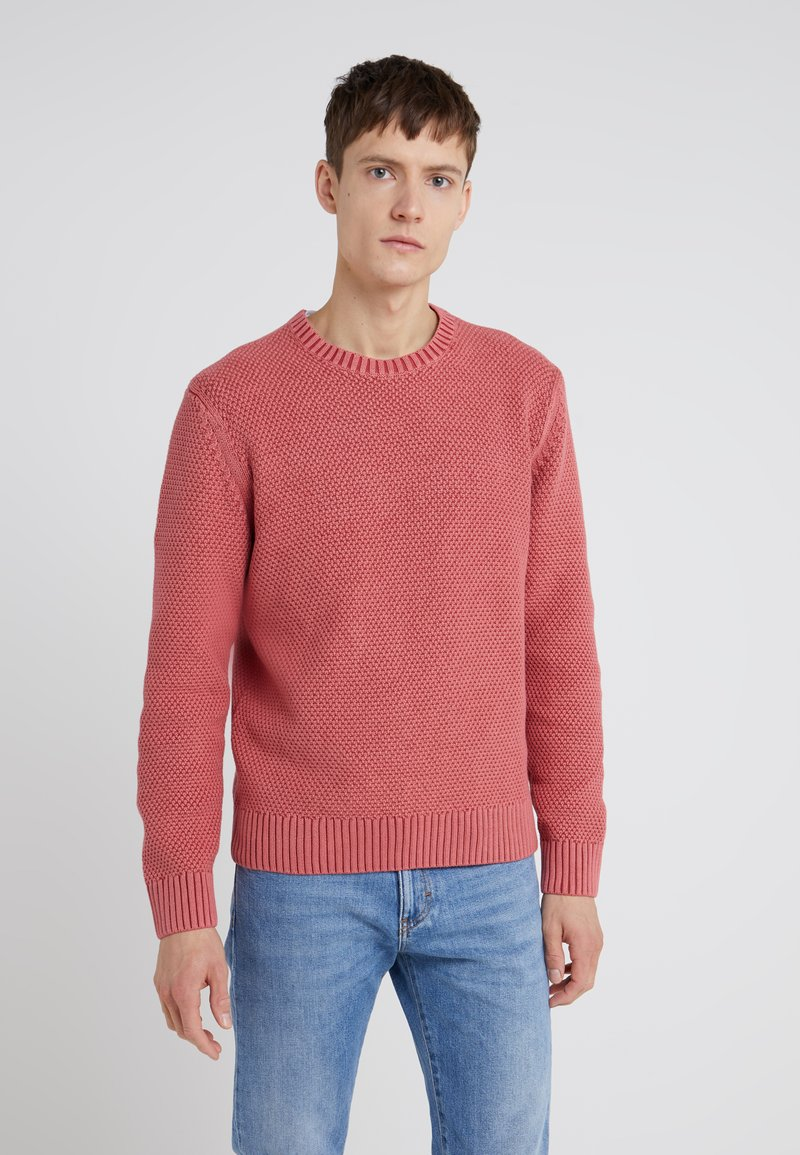 Hackett London - WASHED CABLE CREW - Trui - red